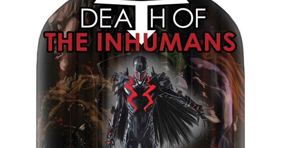 NOTICIA Death of the Inhumans presenta un nuevo personaje