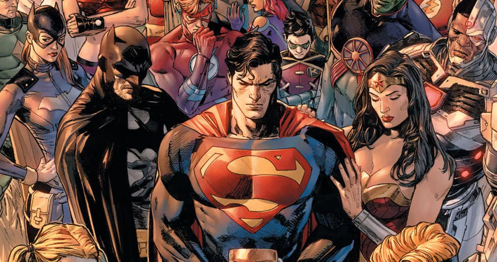 NOTICIA: Desvelada la primea página de 'Heroes in Crisis'