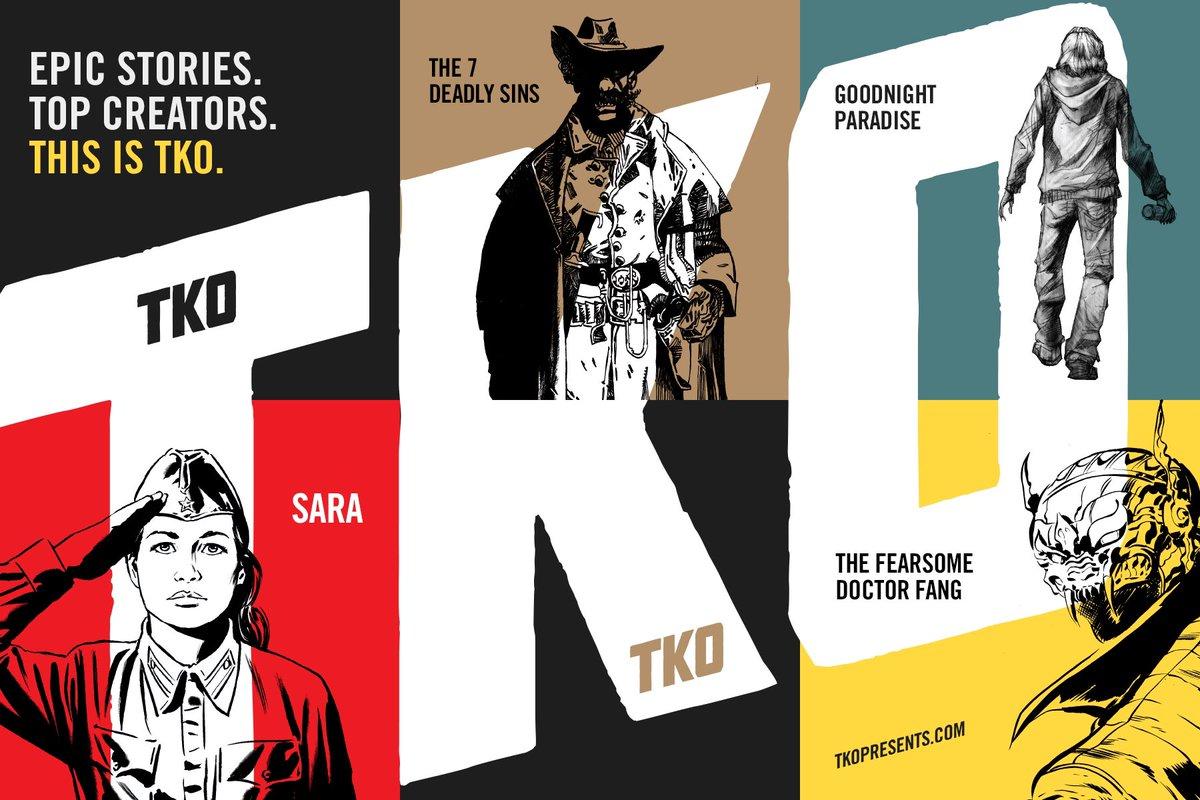 NOTICIA TKO Presents, una nueva editorial que llega cambiando las reglas