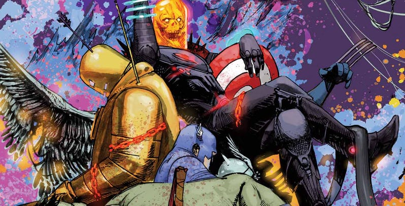 NOTICIA Cosmic Ghost Rider será quien reescribirá la historia de Marvel