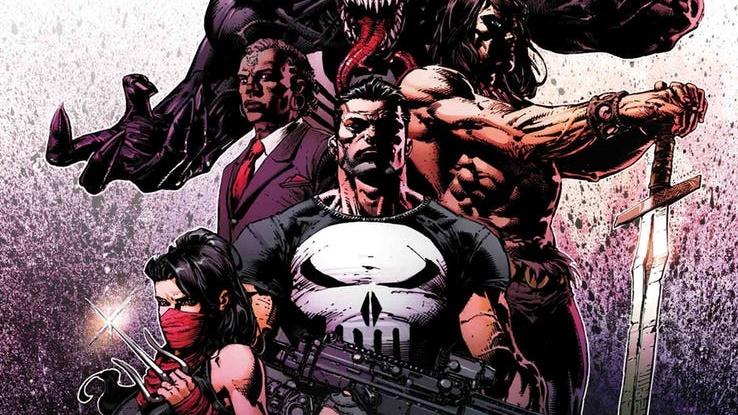 NOTICIA Conan, Punisher, Venom o Wolverine en los nuevos Savage Avengers