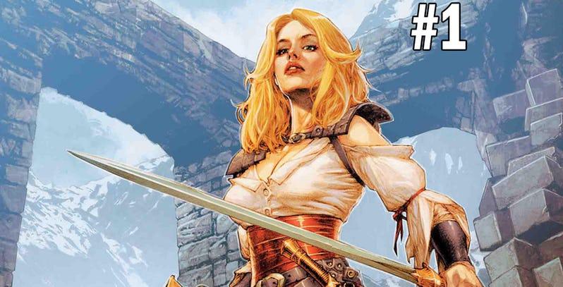NOTICIA Nueva serie de Marvel dentro del universo de Conan. Age of Conan: Valeria