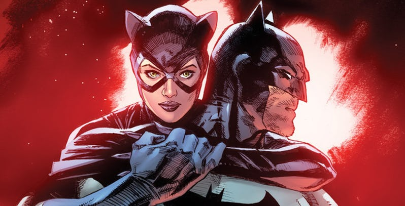 NOTICIA DC anuncia la nueva serie de Tom King: Batman/Catwoman