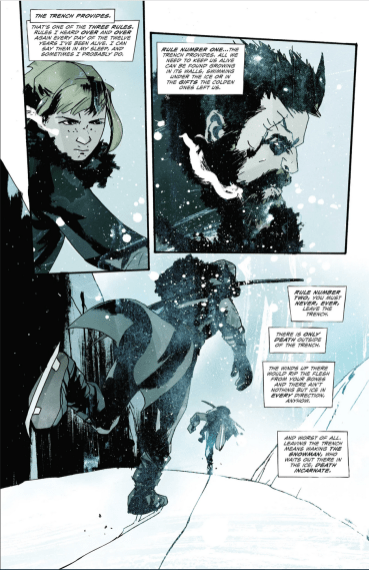 Snow Angels, de Jeff Lemire y Jock