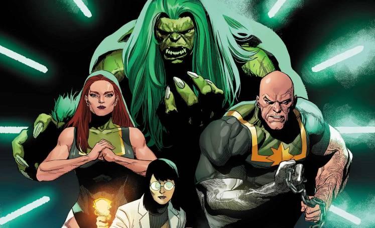 Gamma Flight Spin Off Inmortal Hulk