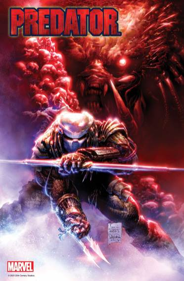 Portada Predator 1 Marvel