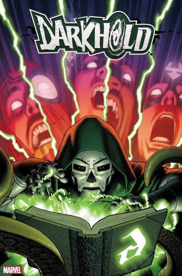 Portada darkhold Doctor Muerte