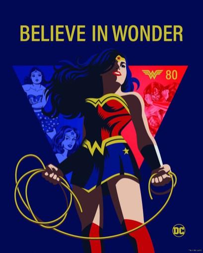 Wonder Woman 80 Aniversario
