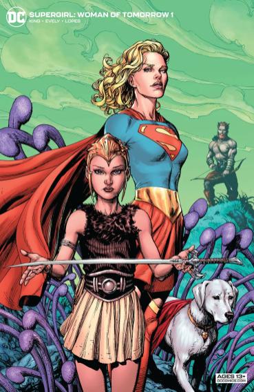 Portada Supergirl Woman of Tomorrow