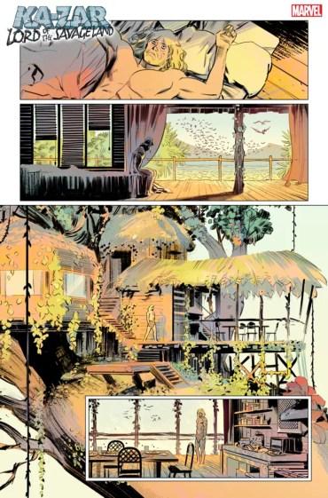 Página 2 Ka-Zar Lord of the Savage Land #1