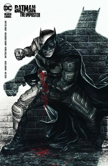Portada Batman El Impostor