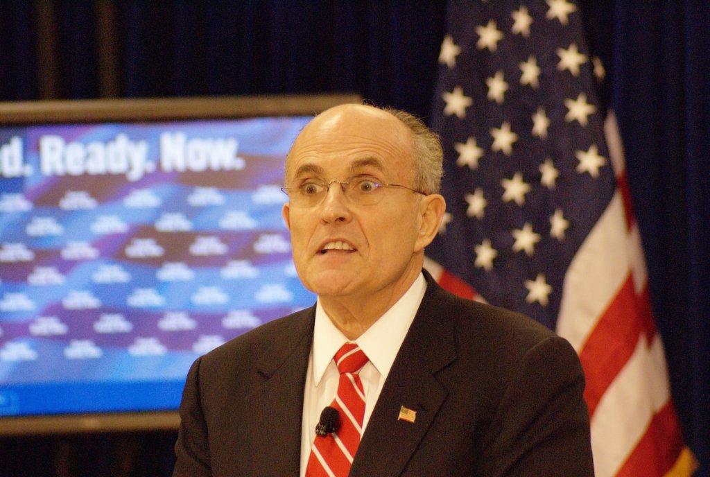 Taken by Marc Nozell - https://commons.wikimedia.org/wiki/File:Rudy_Giuliani_(2167073227).jpg