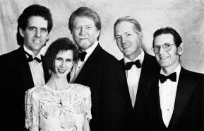 Looking dapper - Avalon Swing: Shelley, Wayne Johnson, Erik and Steven Coughran
