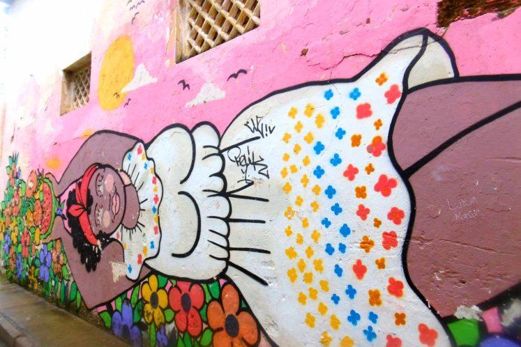 Street art in Getsemani, Cartagena de Indias