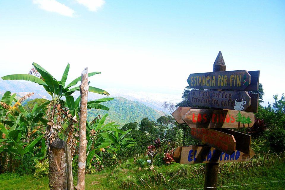 Views from los pinos Minca