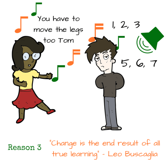 Reason 3 - Learning something new