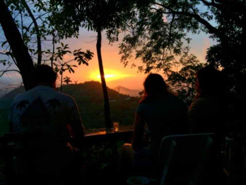 Sunset Casa Loma Minca
