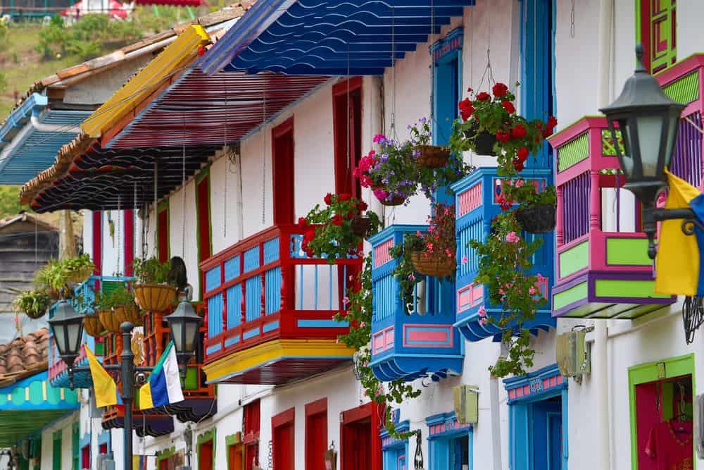 Balconies in Salento
