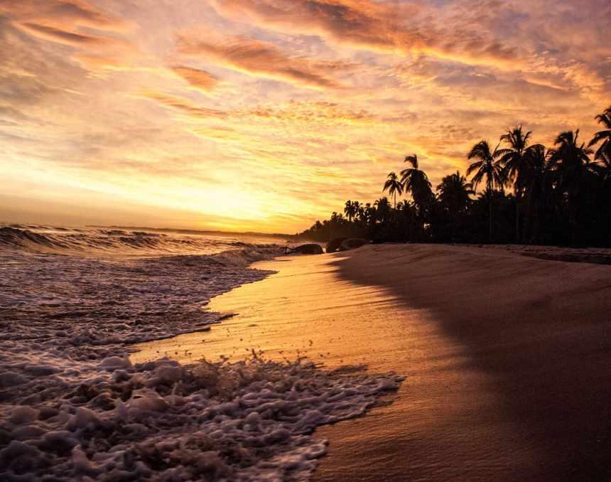 Palomino Sunset beach