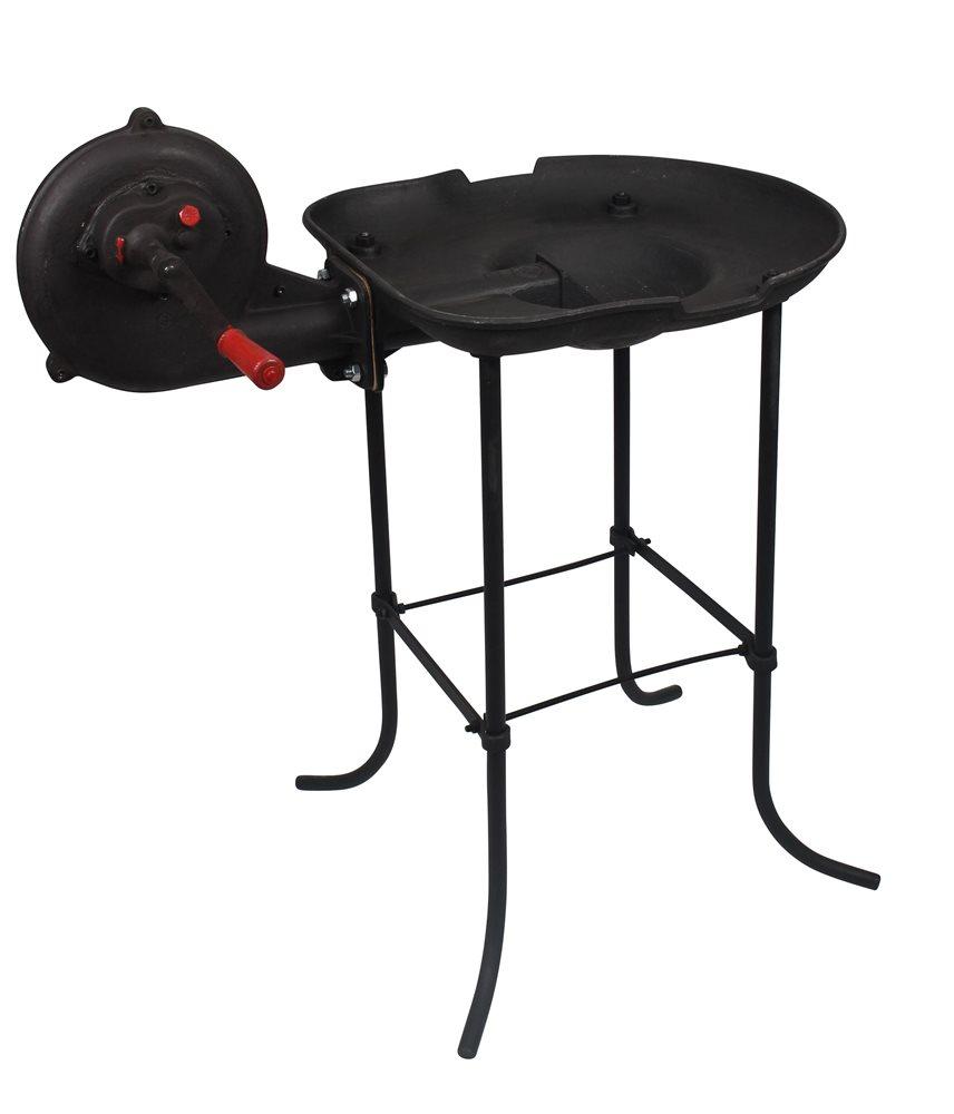 forge a charbon en fonte avec ventilateur tom press