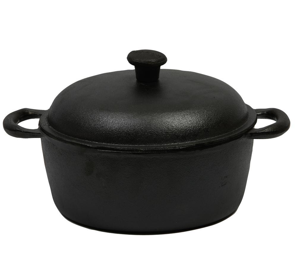cocotte en fonte ronde 25 cm 4 litres tom press