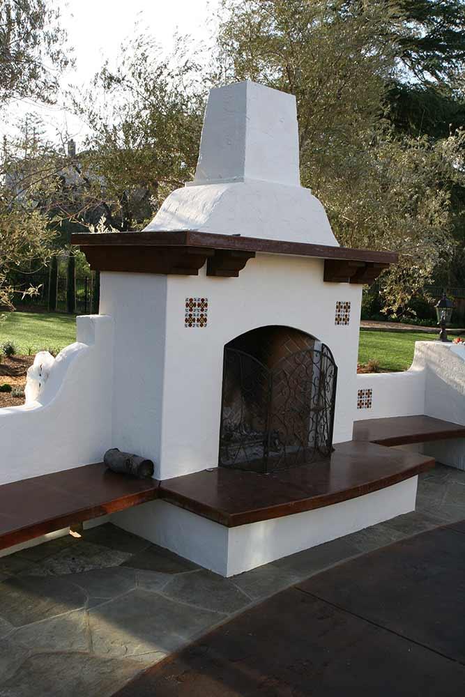 Outdoor Concrete Pizza Ovens Decorative Concrete