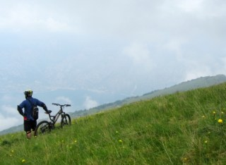 Monte Baldo - Mountainbiken am Gardasee