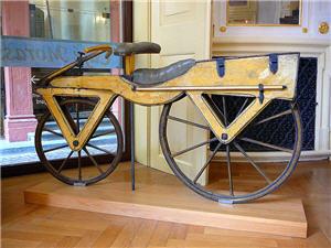Fahrradgeschichte - Die Draisine