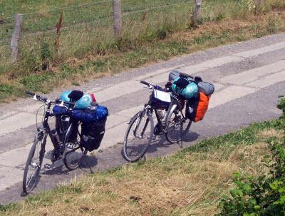 Reiserad in Aktion (Liebesspieler / pixelio.de)