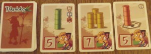 Takenoko Gardener Cards
