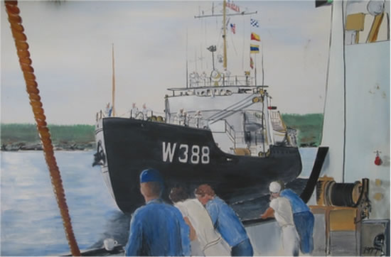 Tom Flemings Gallery Oil Paintings Boats