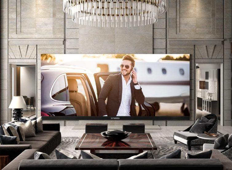 la plus grande tv 4k du monde affiche