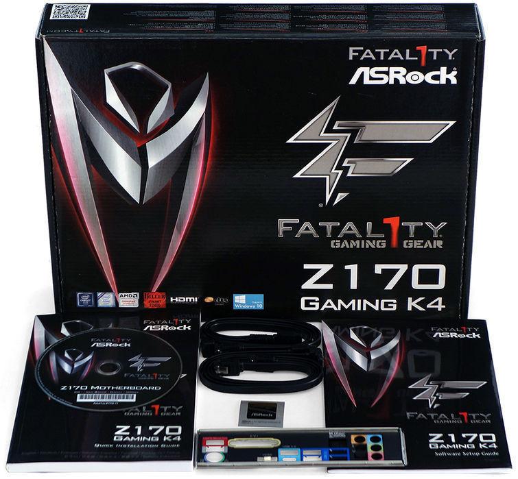 ASRock Z170 Gaming K4 kit w 755