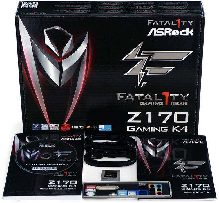 ASRock Z170 Gaming K4 kit w 755