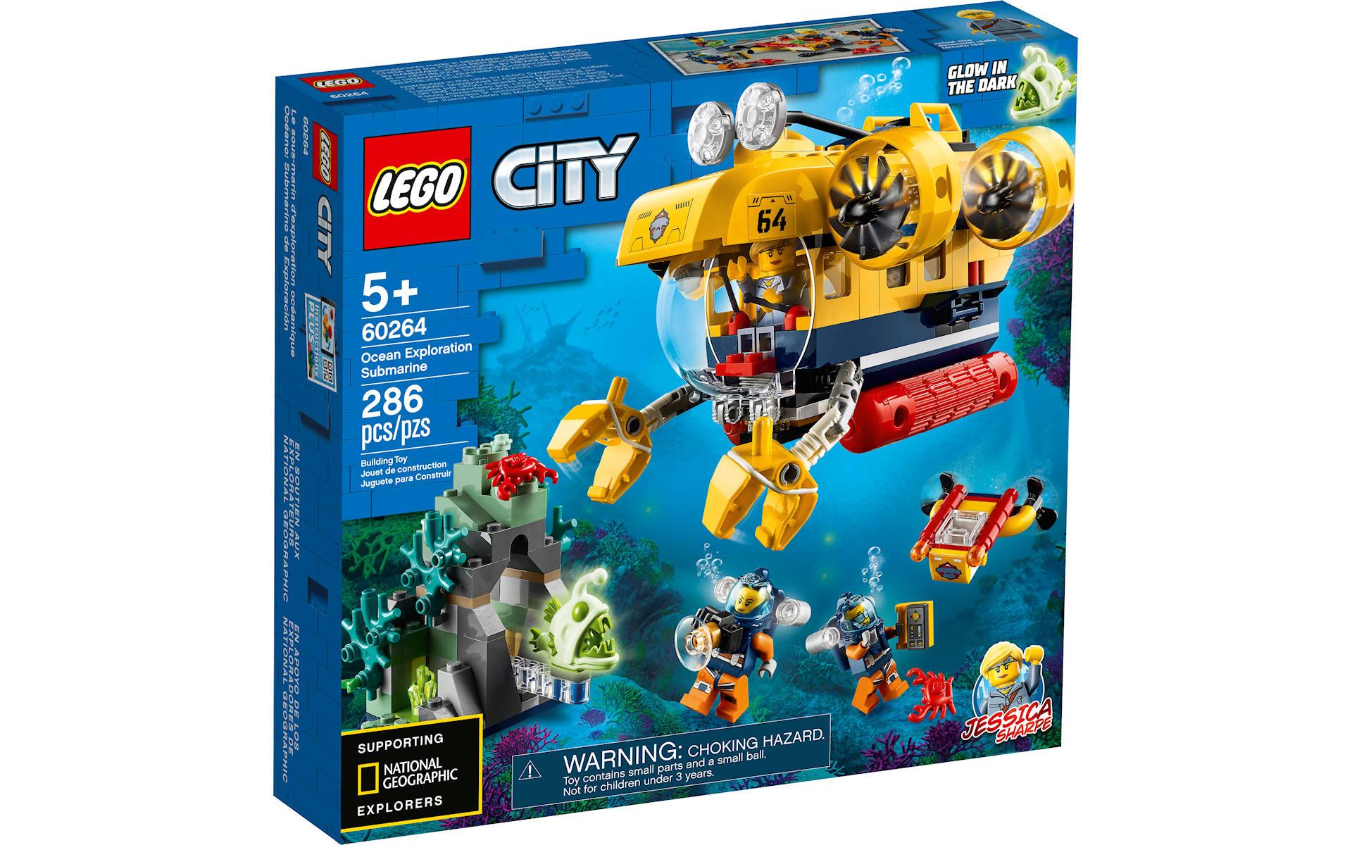 LEGO e National Geographics