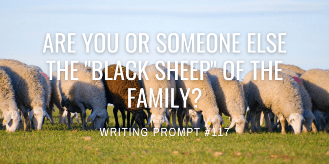 """Are you or someone else the """"black sheep"""" of the family?"""