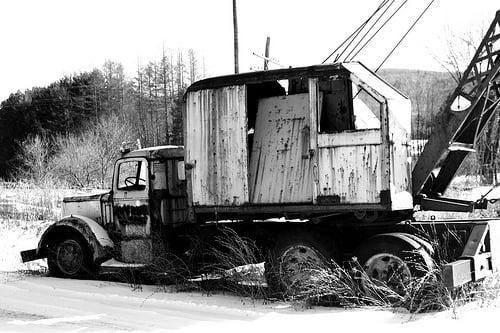 Dead Crane Truck (1)
