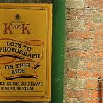 "Kodak Advertising Sign : "" Make sure you have enough film "" : Sheringham : North Norfolk Railway :"