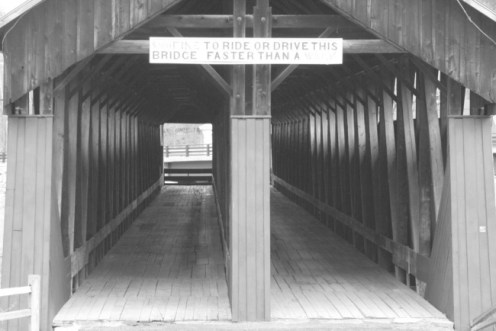 Blenheim Covered Bridge 7