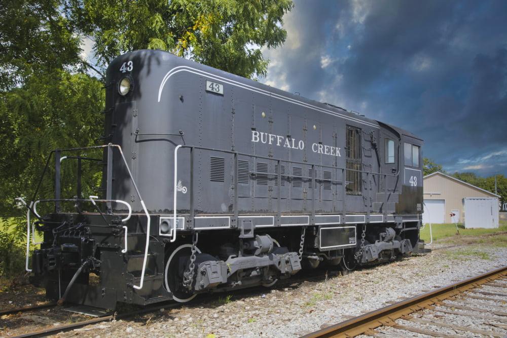 Buffalo Southern Railroad 107
