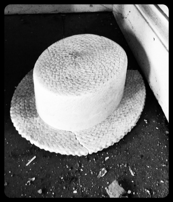 Fake Plastic Hat