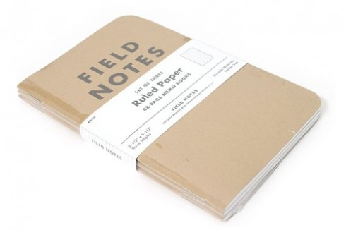 Field Notes: Ruled Paper Memo Book