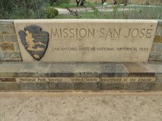 Mission San Jose Sign