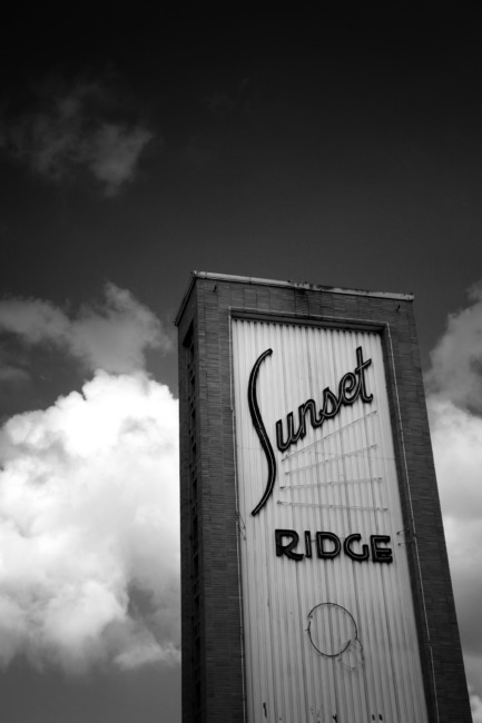 Sunset Ridge (Black & White Edit)