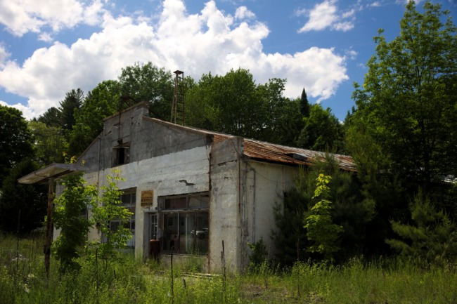 Abandoned Gas And Service Station