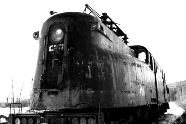 Photographer's Work Leads To Hope for Restoration of Locomotive