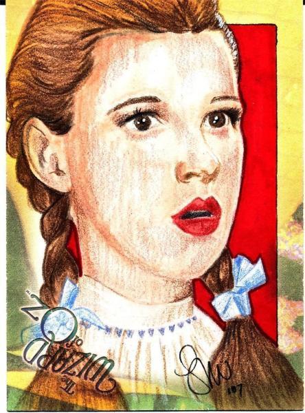 Wizard of Oz Sketch Card
