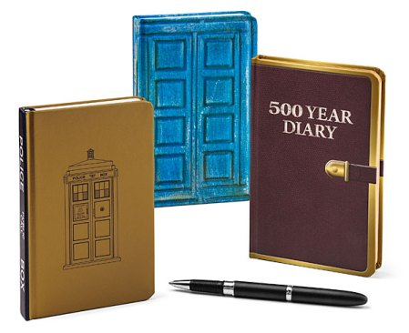 Doctor Who Journals