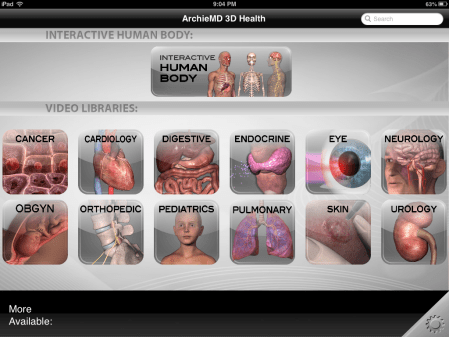 ArchieMD 3D Health: Anatomy and Health Essentials for iOS review