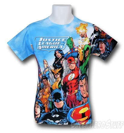 Amazing Justice League Themed T-Shirt, Stunning Design